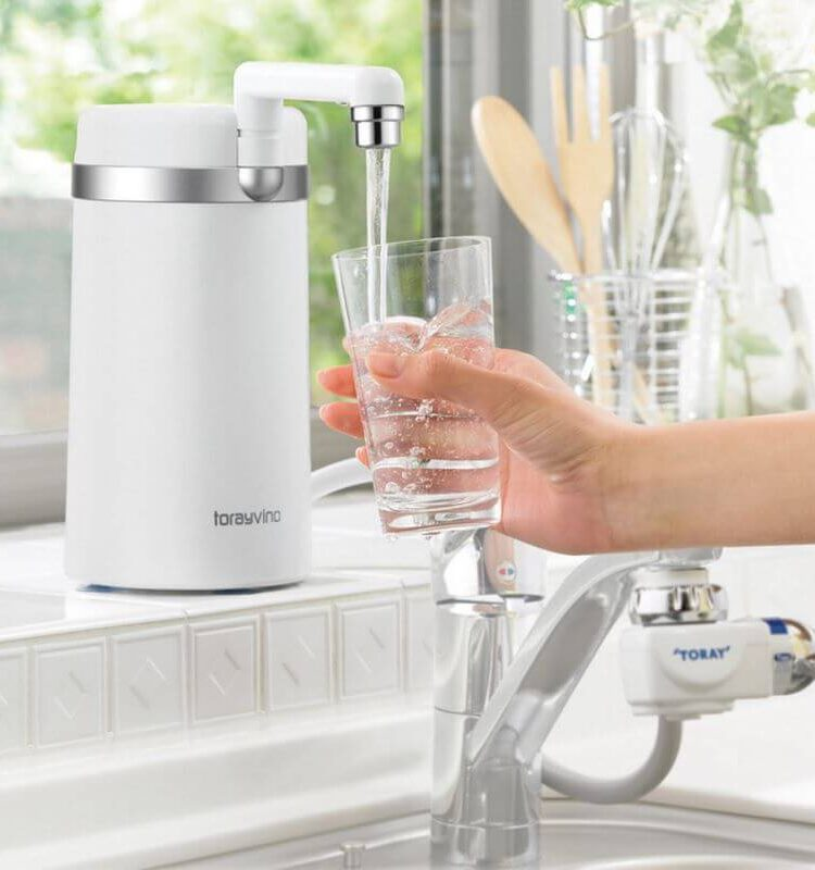 Torayvino Counter Top SW5-EG Water Filtration System